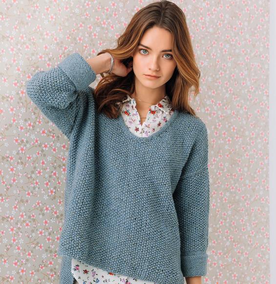 modele tricot pull femme
