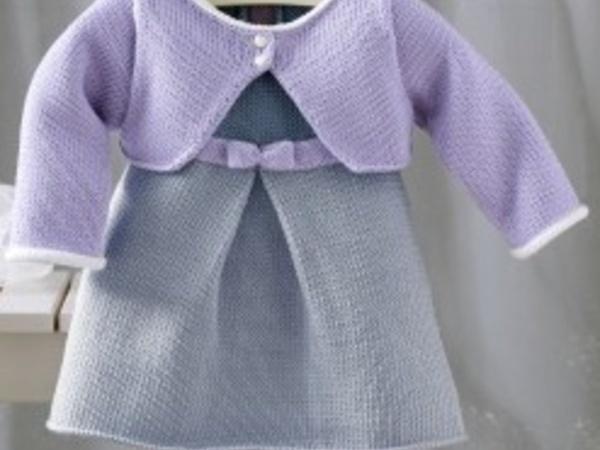 Extrem Robe layette tricot - L'univers du bébé FQ36