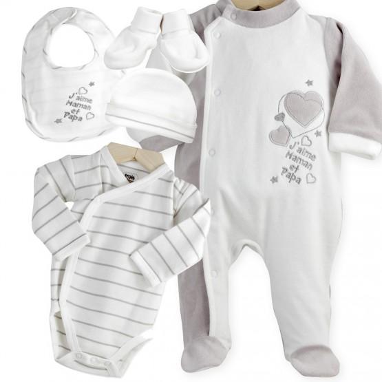e7d106d8ea854 Je veux trouver des body bébé mixte de qualité et mignon pas cher ICI Linge  de naissance bébé