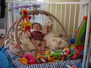 jeu pour bebe 4 mois