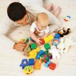 Les jouets de bébé
