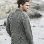 Modèle gilet homme tricot gratuit