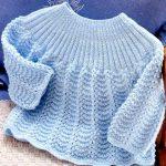 Modèle brassière bébé crochet