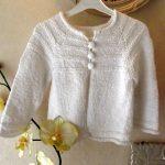 Gilet fillette tricot modele gratuit