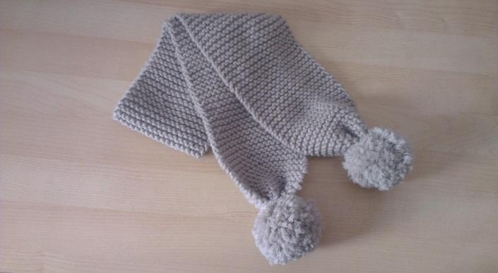 tricoter une echarpe pour un bebe