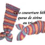 Couverture bébé tricot youtube