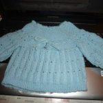 Modele pour tricoter une brassiere