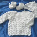 Layette bébé fille à tricoter