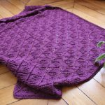 Couverture bébé tricot knit spirit