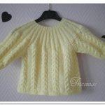 Modèle brassière tricot gratuit