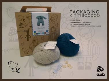 kit tricot layette bebe