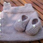 Layette à tricoter facile
