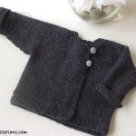 Modèles et explications layette à tricoter