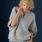Modèle de pull à tricoter pour femme gratuit