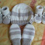Tricoter un bébé