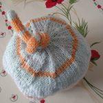 Bonnet nouveau né tricot