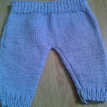 Tricot pantalon bébé tuto