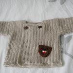 Tricot de bebe en crochet