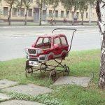 Poussette voiture