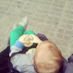 Quand bébé poussette